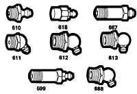 "1/8"" Male Pipe Thread Fittings"